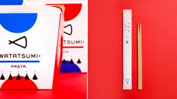 外卖包装设计,筷子包装设计
