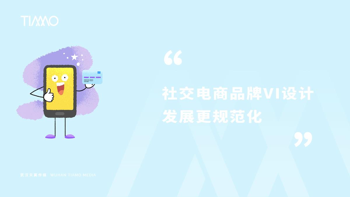 社交电商品牌VI设计发展更规范化