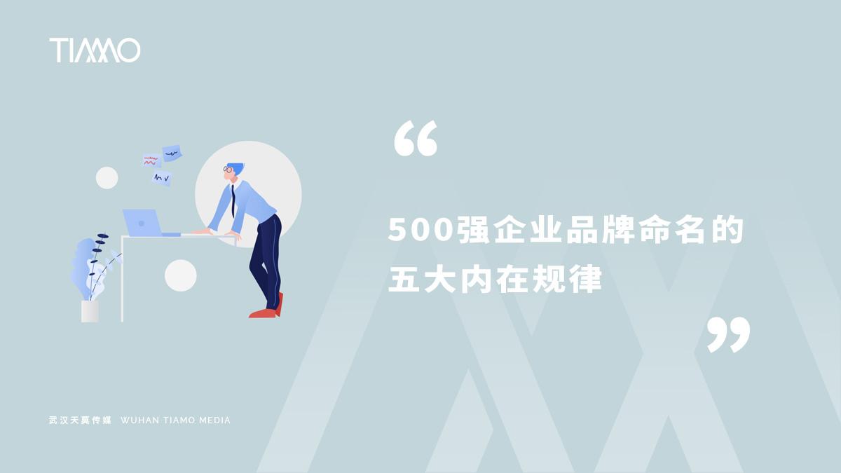 500强企业品牌命名的五大内在规律